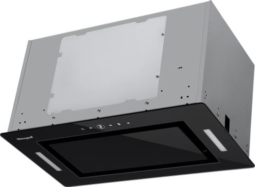 Кухонная встраиваемая вытяжка Weissgauff Aura 1200 Remote BL фото
